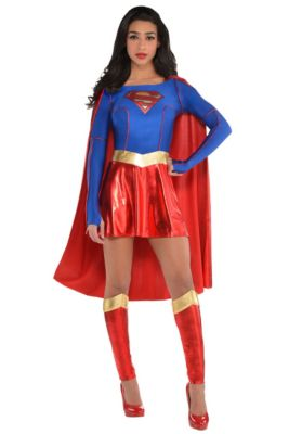 df1750a6d Adult Supergirl Costume - Superman