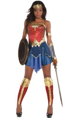 3891dc70bb51a Womens Wonder Woman Costume - Wonder Woman Movie