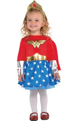 a68c1278e Wonder Woman Costumes for Kids & Adults | Party City