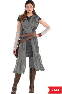 37759712a22 Adult Rey Costume - Star Wars 8 The Last Jedi