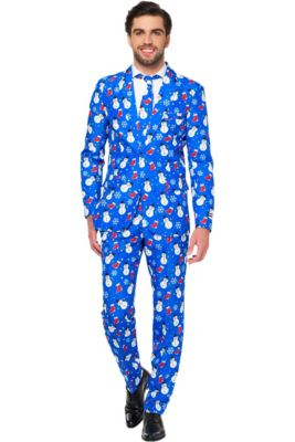 adult snowman stocking christmas suit