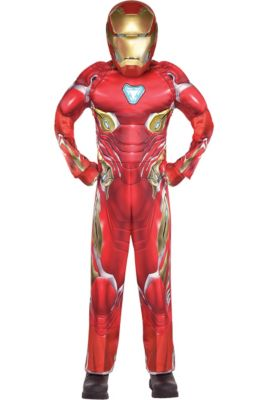 e11046e38126 Boys Iron Man Muscle Costume - Avengers Infinity War