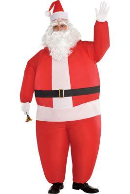 02bdb6e458 Adult Inflatable Santa Costume