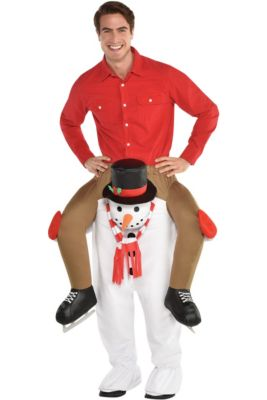 Adult Snowman Ride-On Costume eb6bdc6e039c