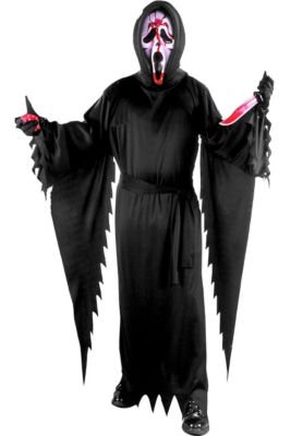 adult bleeding ghost face costume scream