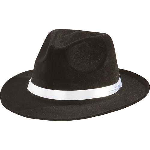 6fee8876e8ffc Black Gangster Hat