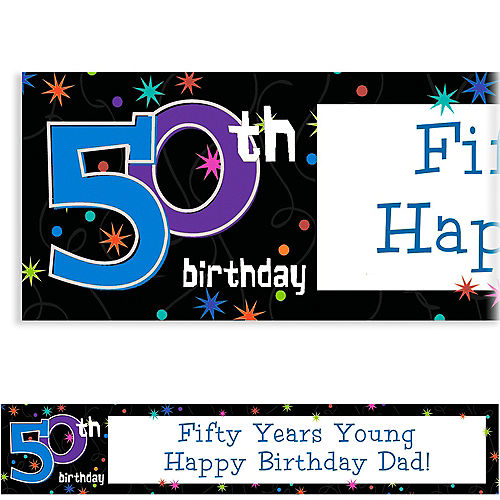 50th birthday decorations party city