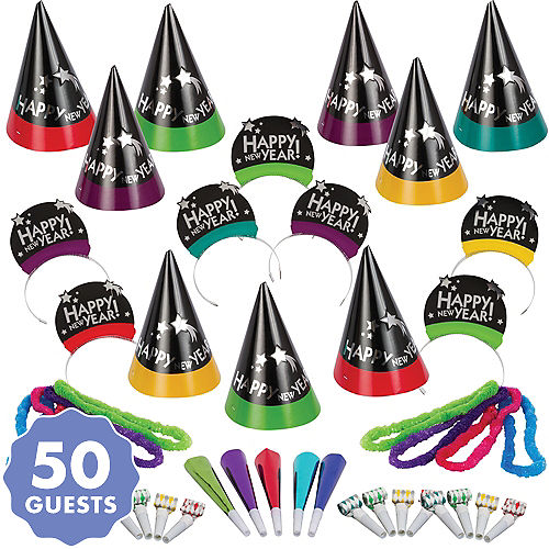 New Year S Eve Party Kits For 10 To 600 Guests Party City Canada
