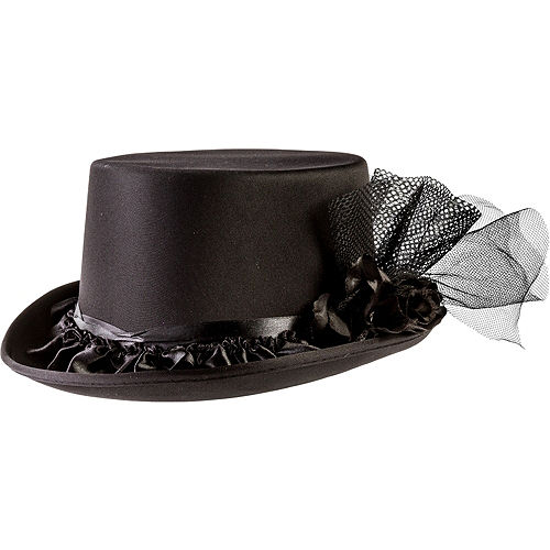 Black Rose Top Hat 9c9a4a11c9d1