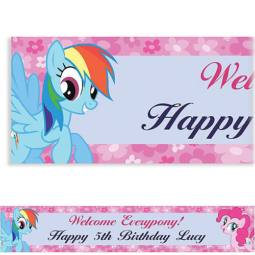 Custom My Little Pony Friends Banner 6ft