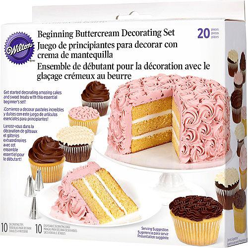 Wilton Beginners Cake Decorating Set 20pc