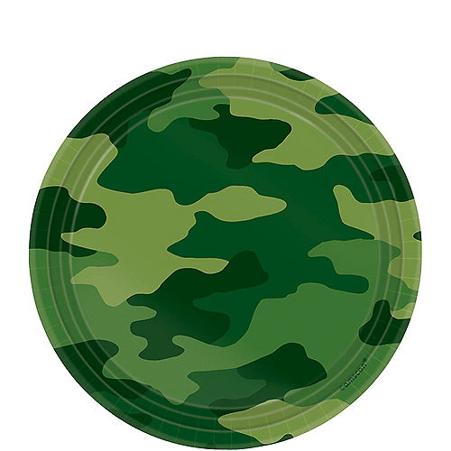 Camouflage Party Supplies - Camouflage Birthday Decorations | Party City