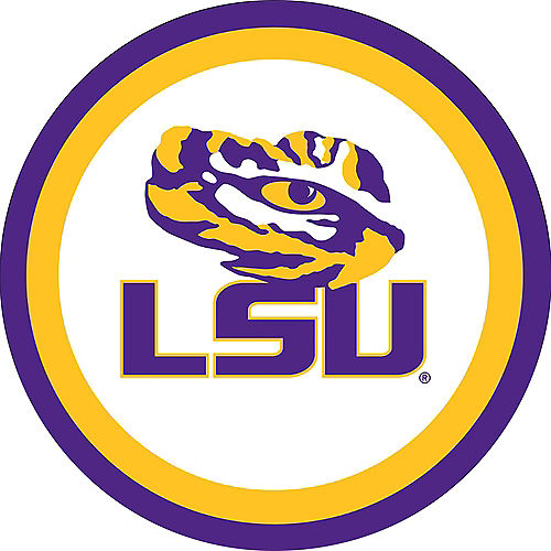 Louisiana State Tigers Dessert Plates 12ct