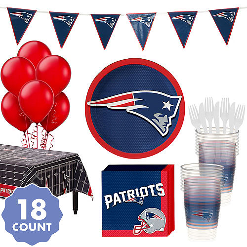 05d08927 New England Patriots Party Supplies & Decorations   Party City