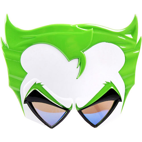 The Joker Sunglasses 7 12in X 6in Batman Party City