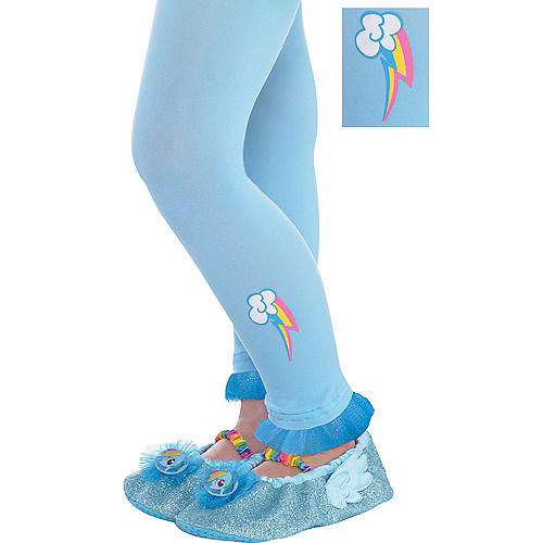 8efc5b487 Child Rainbow Dash Footless Tights - My Little Pony