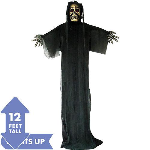 giant light up hanging black reaper