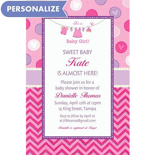 a63943db8b3 Baby Shower Invitations - Printable Baby Shower Invitations
