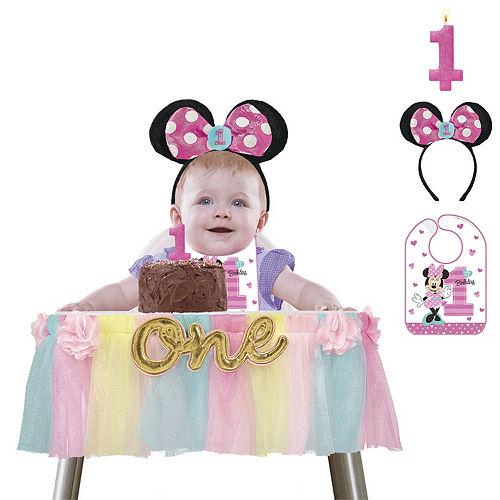 1st Birthday Minnie Mouse Smash Cake Kit