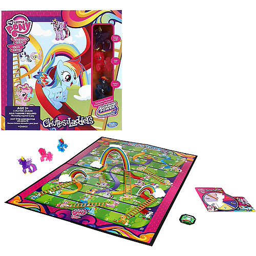 My Little Pony Chutes Ladders Game Party City