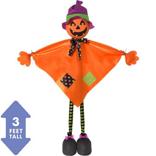 Friendly Standing Pumpkin Decoration