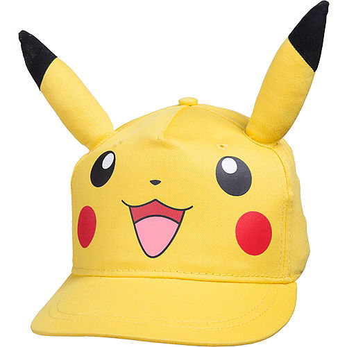cf387f06768 Child Pikachu Baseball Hat 7in x 5in - Pokemon