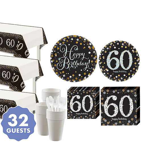 60th Birthday Party Supplies 60th Birthday Ideas Decorations