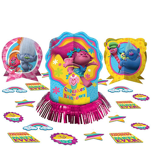 Trolls Table Decorating Kit 23pc