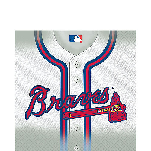 Atlanta Braves Lunch Napkins 16ct