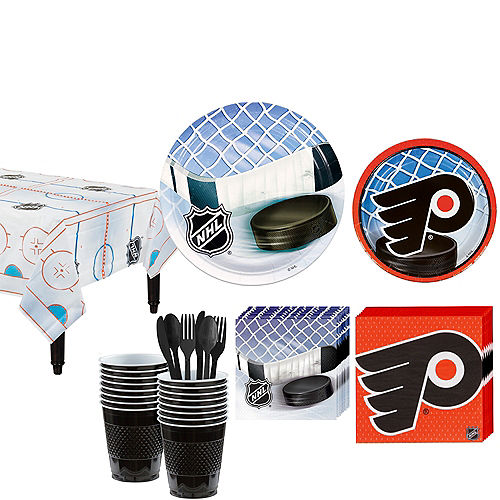 philadelphia flyers party kit for 16 guests