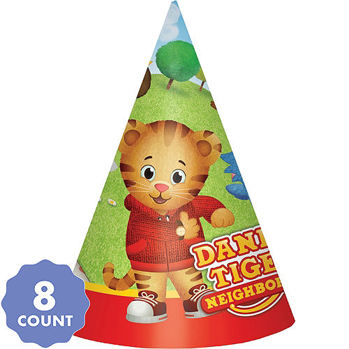 92e08f78d6e Daniel Tiger s Neighborhood Party Hats 8ct