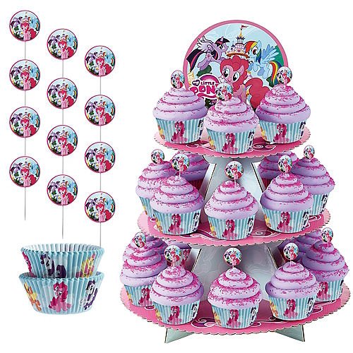 My Little Pony Cupcake Kit For 24