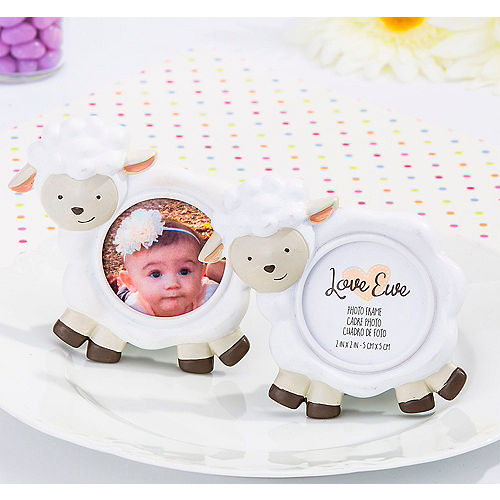 Baby Lamb Photo Frame Place Card Holders 6ct Party City Canada