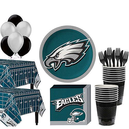 67aa7df11 Super Philadelphia Eagles Party Kit for 36 Guests