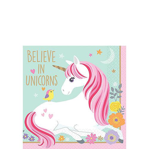 Magical Unicorn Beverage Napkins 16ct