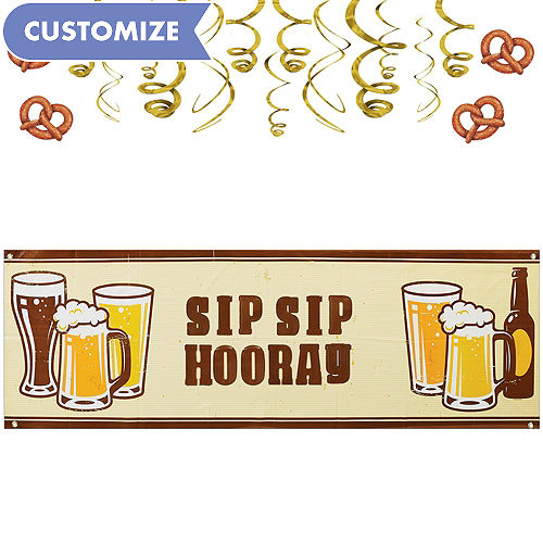 Cheers Beers Decorating Kit
