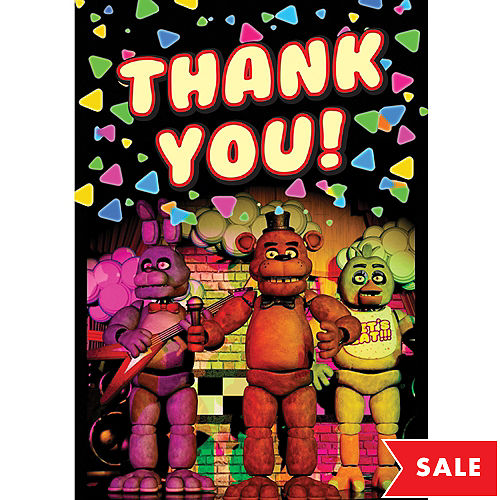 Five Nights at Freddy's Party Supplies - Five Nights at Freddy's