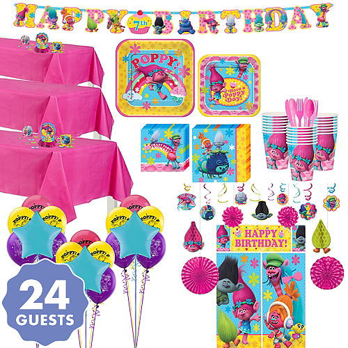 Trolls Tableware Ultimate Kit For 24 Guests