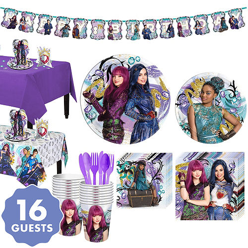 Descendants 2 Tableware Party Kit For 16 Guests