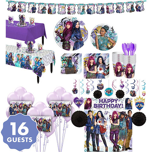 Descendants 2 Tableware Ultimate Kit For 16 Guests