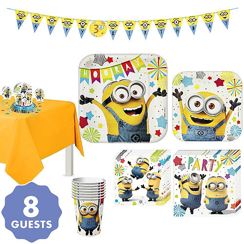 despicable me minions party supplies minions birthday ideas