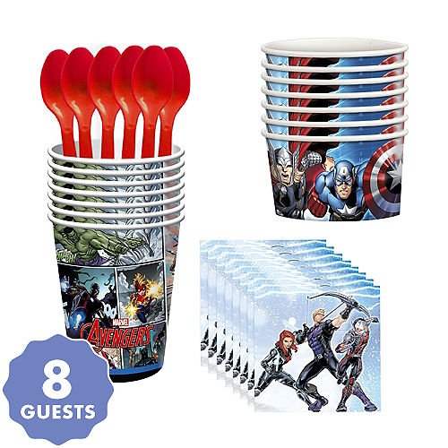 Avengers Tableware Party Kit For 8 Guests