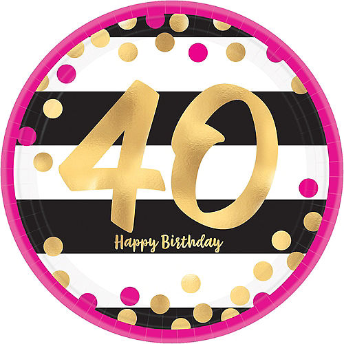 40th Birthday Party Supplies Decorations Ideas Party City