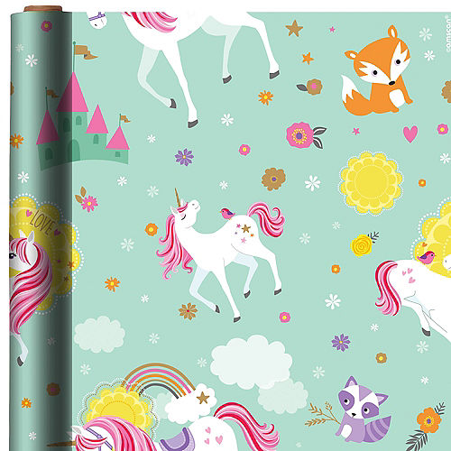 Magical Unicorn Gift Wrap