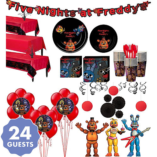 Five Nights At Freddys Party Supplies Five Nights At Freddys