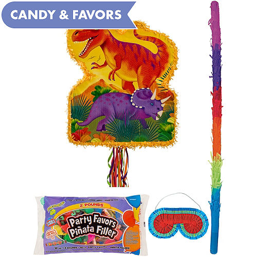 Prehistoric Dinosaurs Pinata Kit With Candy Favors