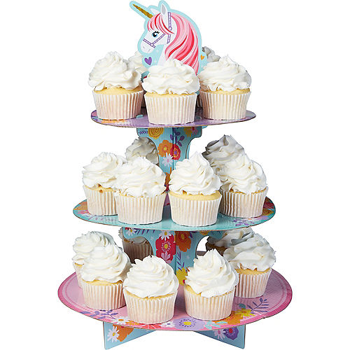 In Store Pickup Magical Unicorn Cupcake Stand