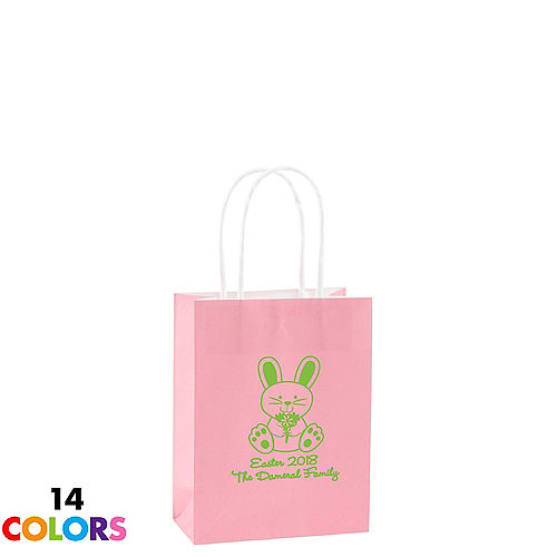 personalized small easter kraft bags 4in x 5in party city