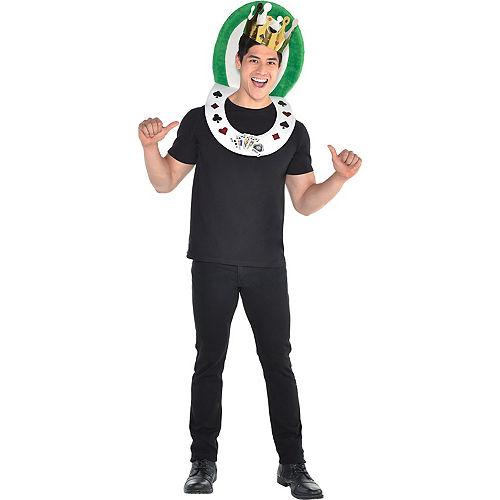 adult royal flush costume accessory kit
