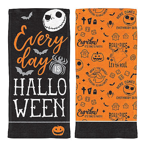 the nightmare before christmas kitchen towels 2ct - Party City Nightmare Before Christmas Decorations